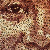 Scott Gundersen Wine Cork Art